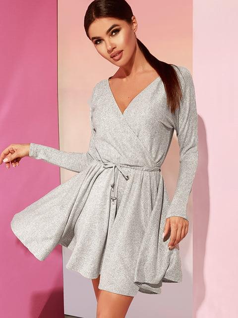 Платье серое Gepur 4860190