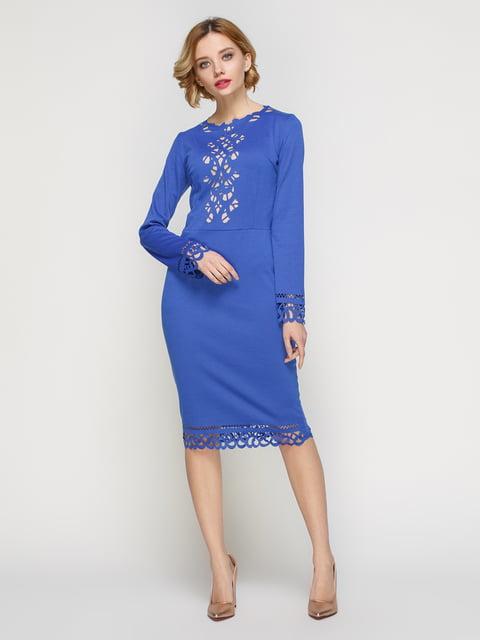 Сукня кольору електрик My Monday 3045962