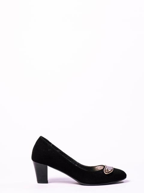 Туфлі чорні Enrico Daniele 4860274