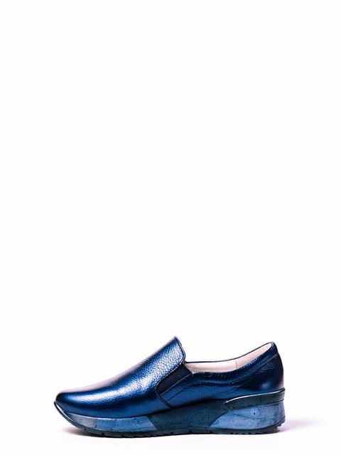 Слипоны синие ANRI 4860281