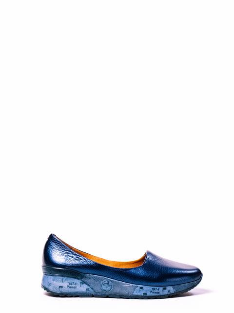 Туфлі сині ANRI 4860283