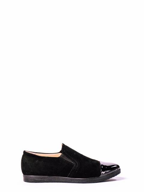 Туфли черные Kluchini 4860342