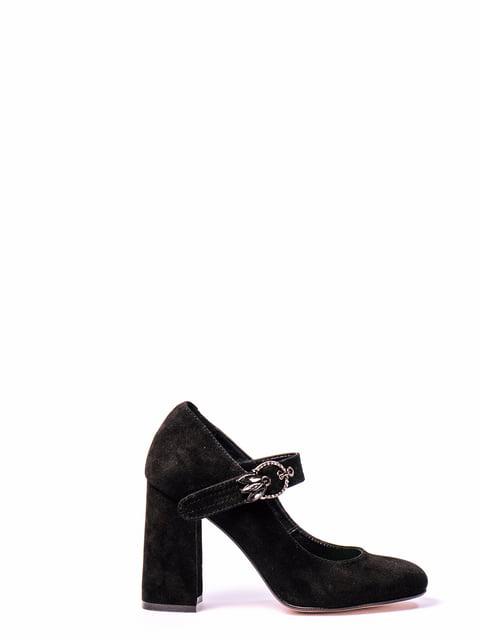 Туфли черные Kluchini 4860344