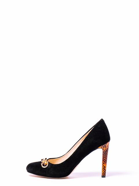 Туфлі чорні Respect 4860372