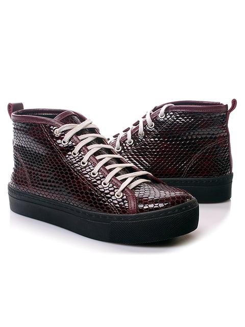 Ботинки бордовые Viscala 4861244