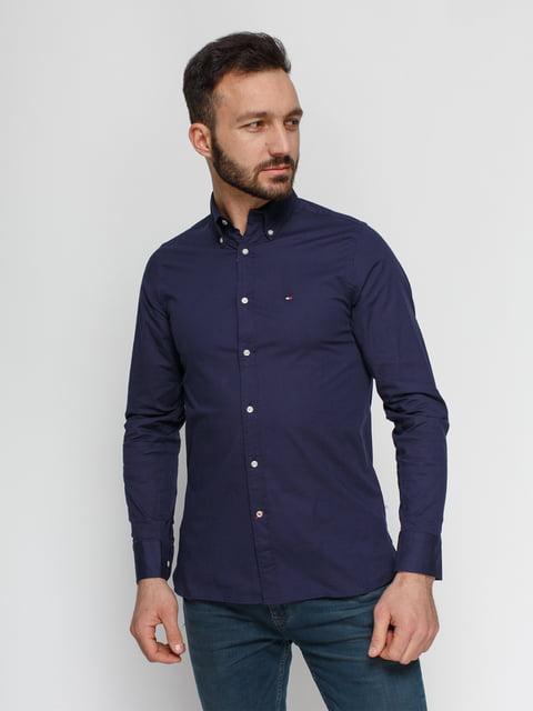 Рубашка синяя Tommy Hilfiger 4840111