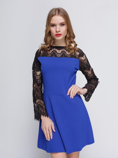 Сукня кольору електрик My Monday 3182307