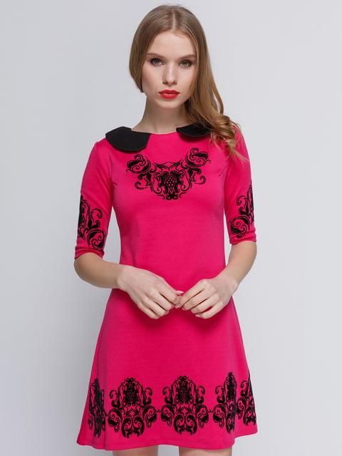 Сукня малинового кольору My Monday 2183465