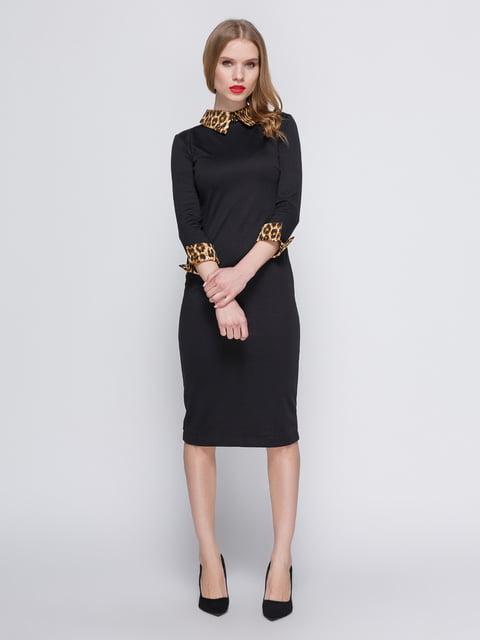 Сукня чорна My Monday 2886738