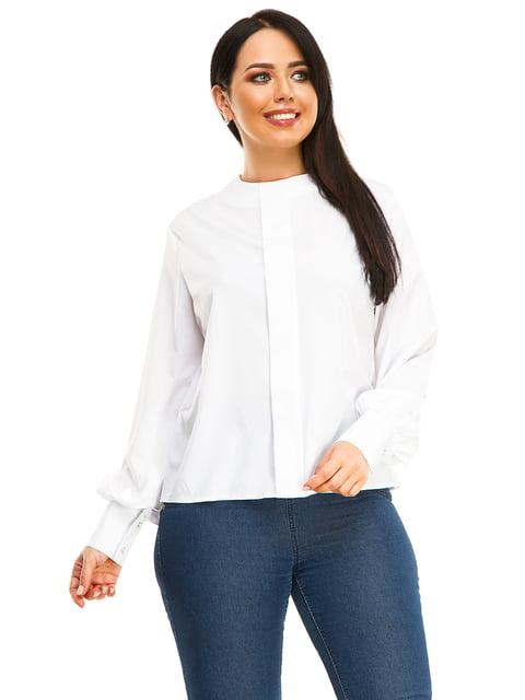 Блуза біла Exclusive. 4534863