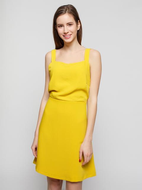 Сукня жовта Mango 4789957
