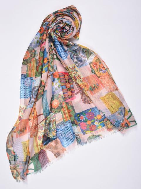 Палантин разноцветный Fashion Look 4863491