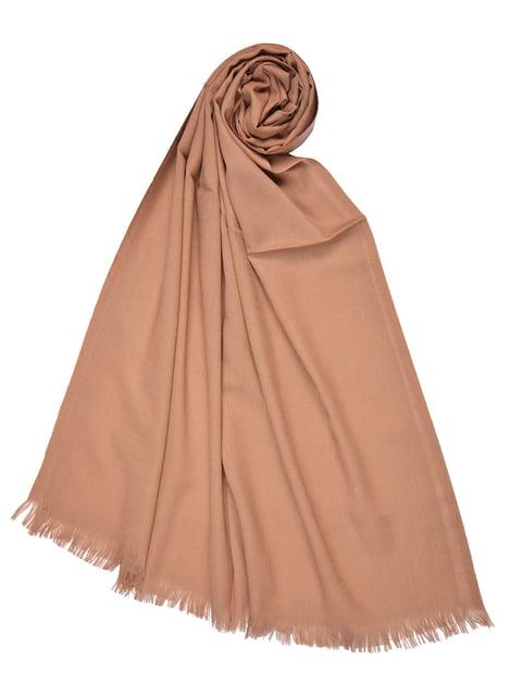 Палантин коричневый Fashion Look 4863500