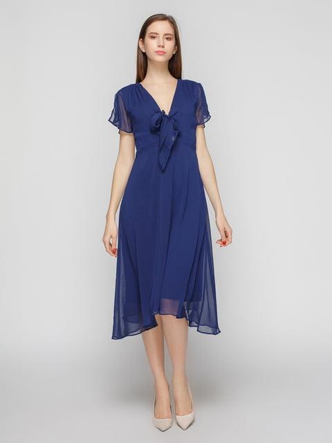 Платье синее Mango 4789725