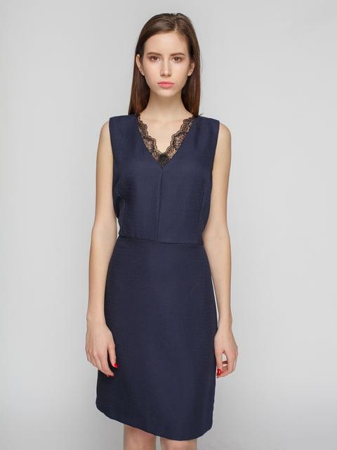 Сукня темно-синя Mango 4789956