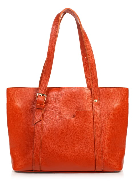 Сумка рыжего цвета Monika Ricci 4861378
