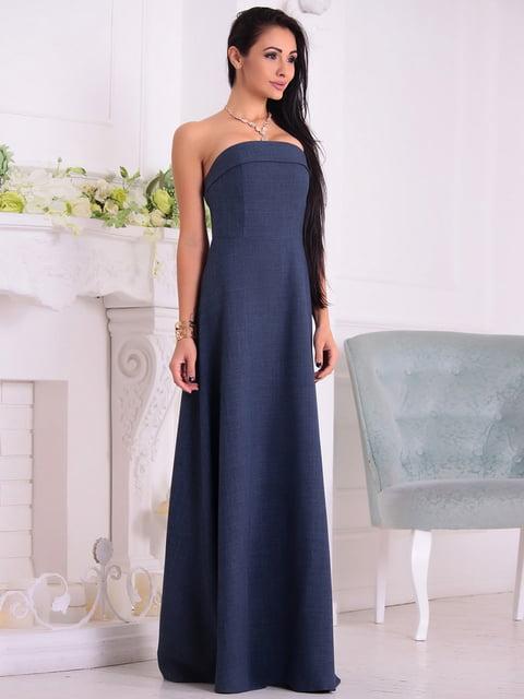 Сукня темно-синя Maurini 4619895