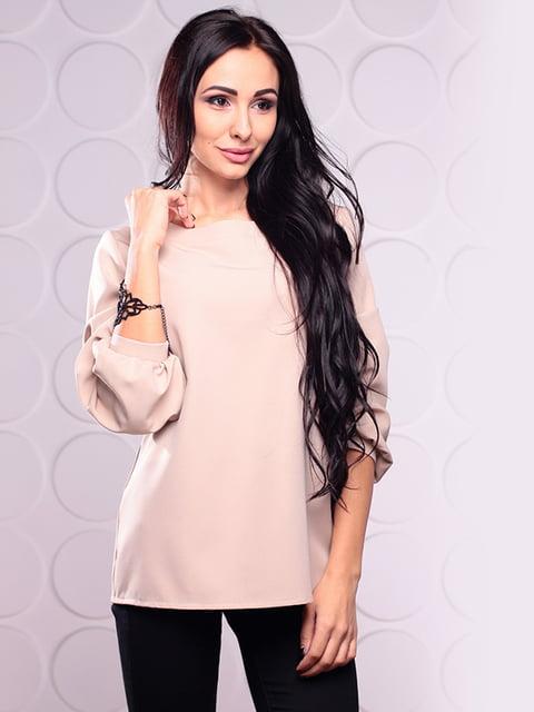 Блуза бежевая Rebecca Tatti 4620038