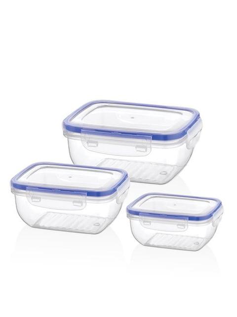 Набор контейнеров для хранения (0,4 л; 0,8 л; 1,4 л) BAGER 4600226