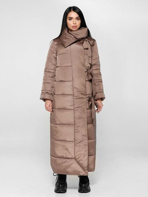 Пальто светло-коричневое Favoritti 4828110