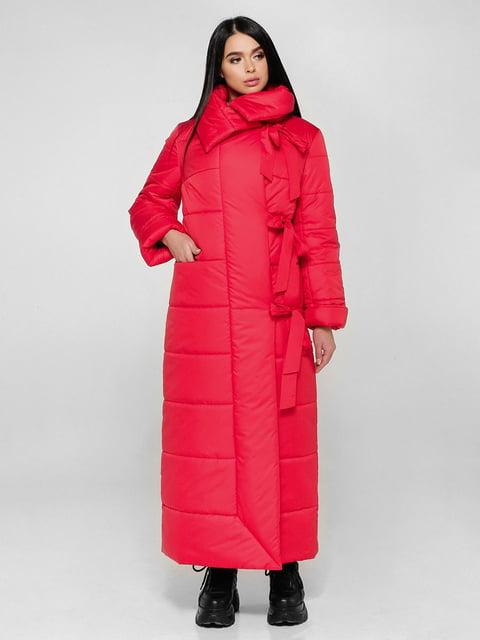 Пальто красное Favoritti 4828113