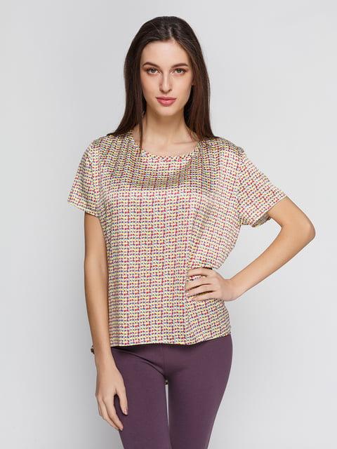 Блуза в принт BGN 4652945