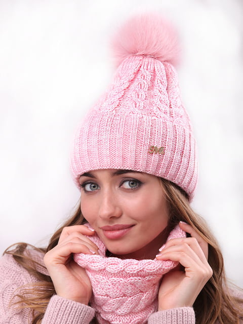 Комплект: шапка і шарф-хомут Retto 4866849