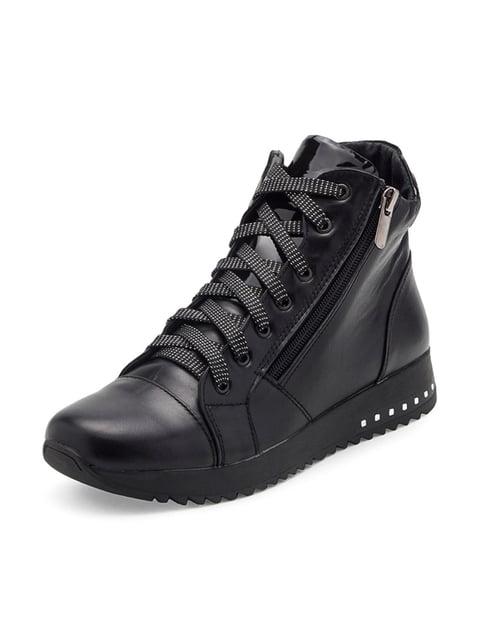 Ботинки черные Tops 4827836