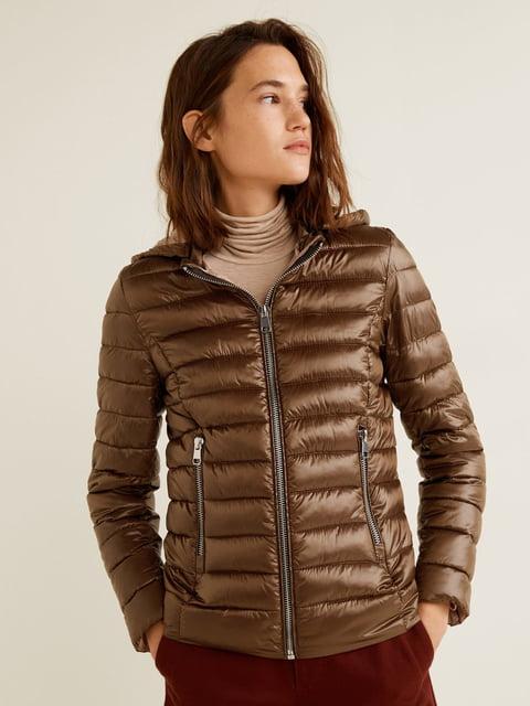 Куртка бронзового кольору Mango 4861128