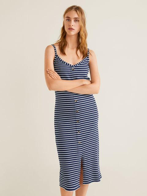 Платье в полоску Mango 4861157