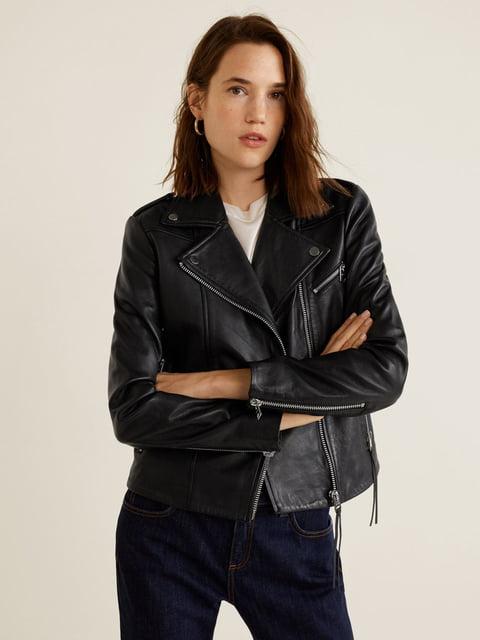 Куртка чорна Mango 4861180