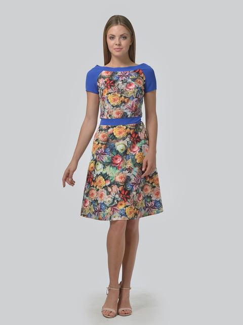 Платье в цветочный принт AGATA WEBERS 4630356