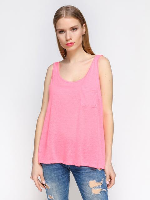 Майка яскраво-рожева Pimkie 4628453