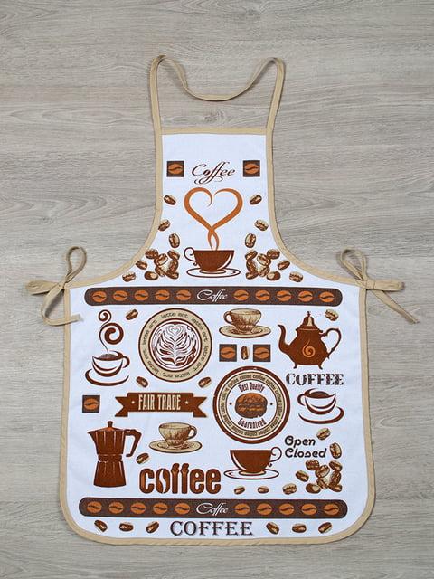 Фартук кофейного цвета LOTUS 4857780
