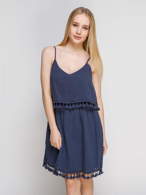 Платье синее Mango 4842422