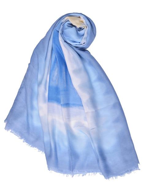 Палантин блакитний Fashion Look 4875243