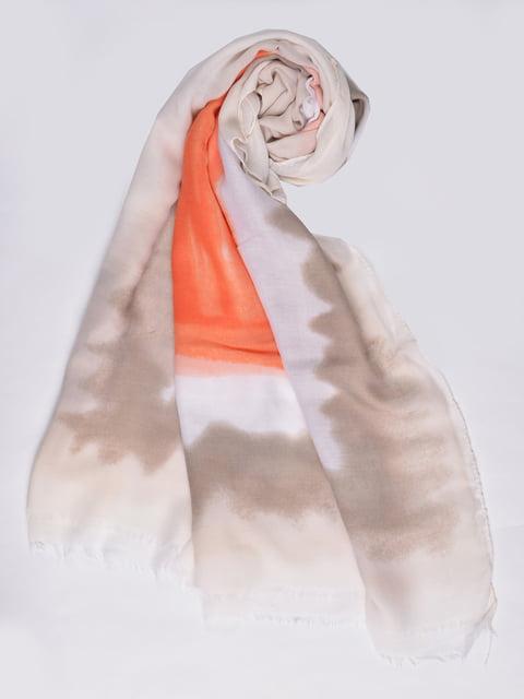 Палантин бежевый Fashion Look 4875244