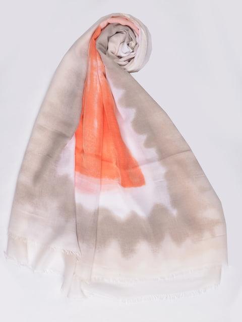 Палантин бежевый Fashion Look 4875245