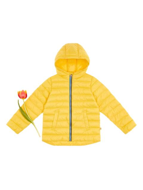 Куртка желтая Benetton 4864540