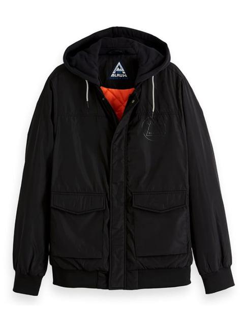Куртка черная Scotch&Soda 4878073