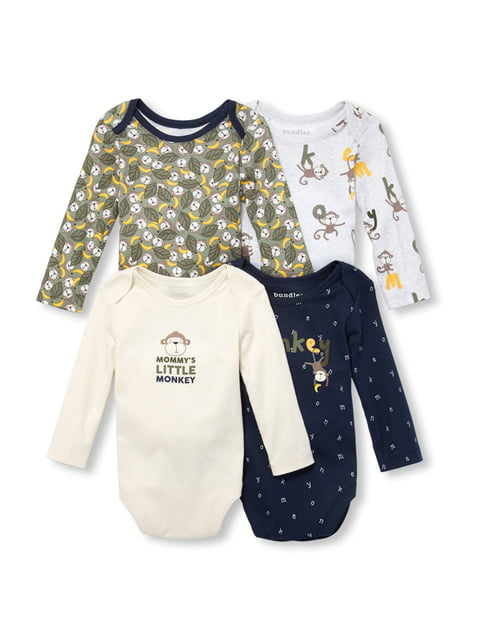 Набор боди (4 шт.) Baby place 4878301