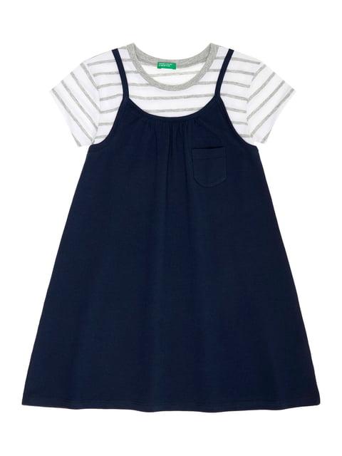 Сукня синя Benetton 4864523