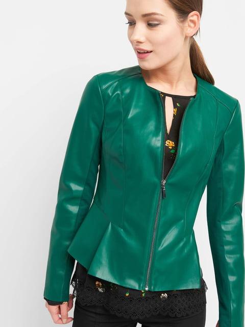 Куртка зелена Orsay 4876457