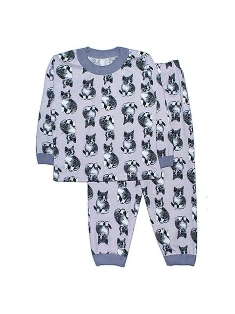Пижама с начесом: лонгслив и брюки Малыш 4879902