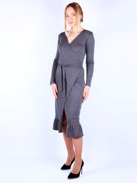 Платье темно-серое MOONLIGHT 4885370