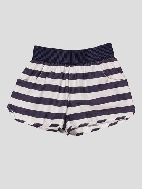 Шорти чорно-білі в смужку Zara Kids 2041489