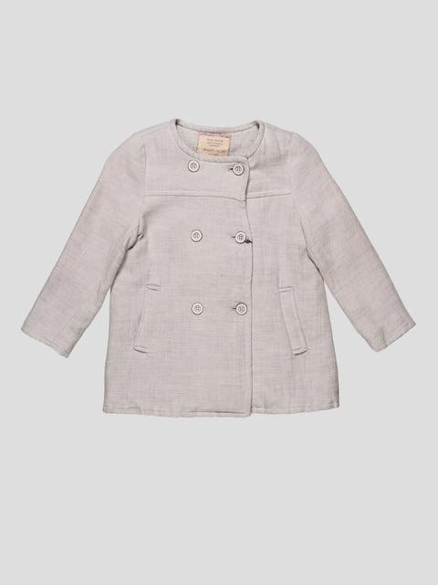 Пальто серое Zara Kids 4511220