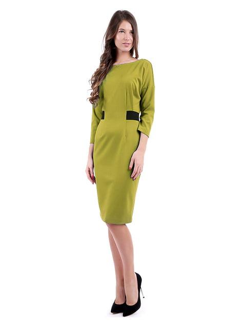 Сукня гірчичного кольору Andrea Crocetta 4885070