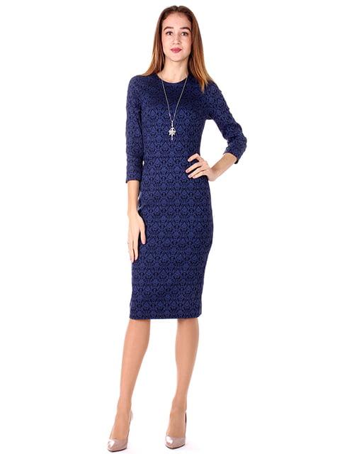 Сукня синя Andrea Crocetta 4885113