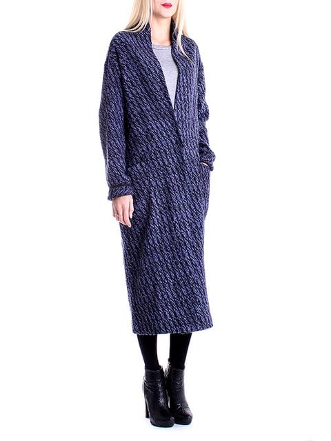 Пальто фіолетове Andrea Crocetta 4885168